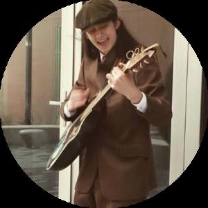 Lliam Buckley Playing Guitar
